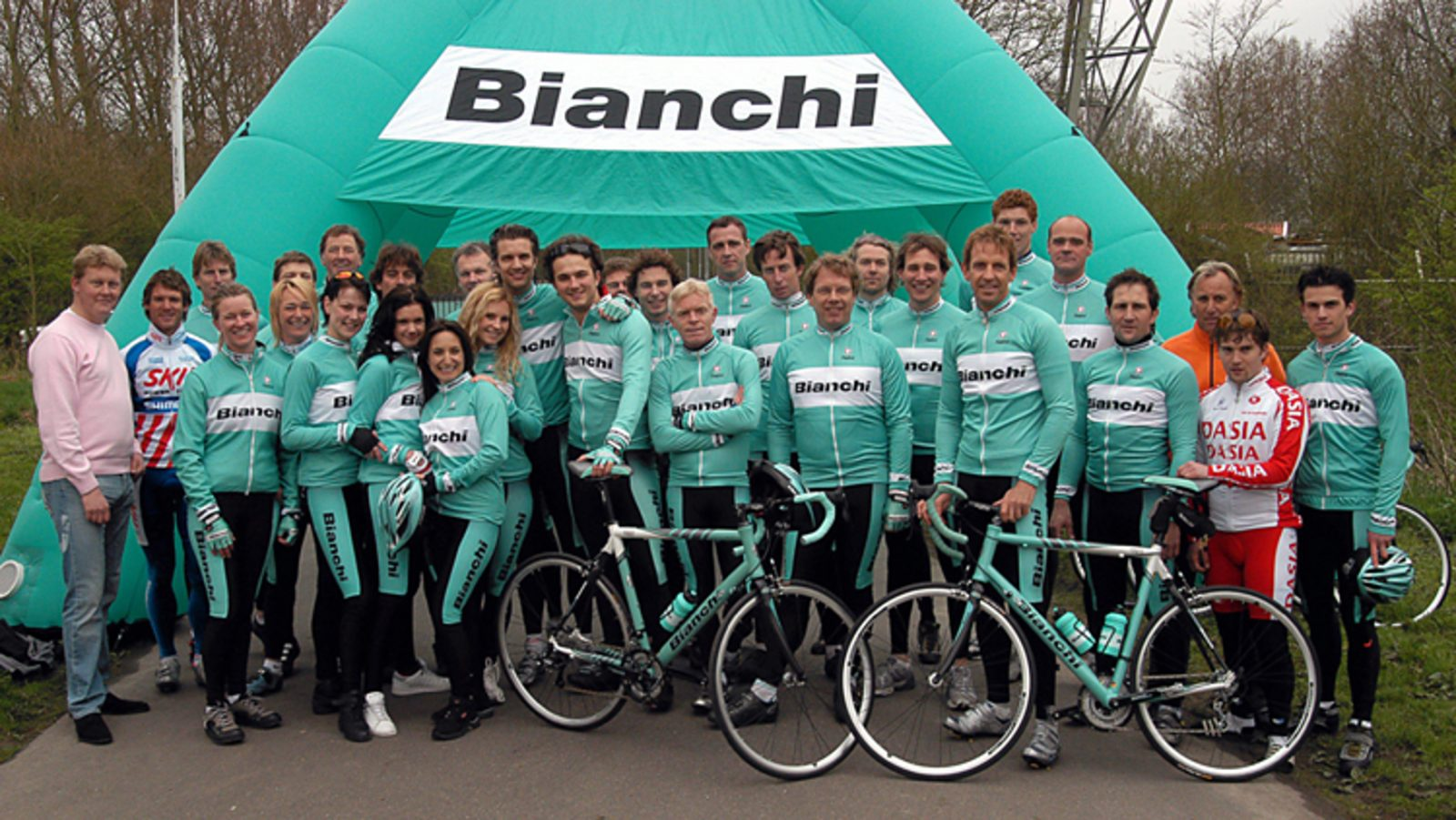 Sportsponsoring Bianchi GTST Groot