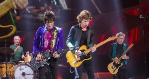 The Rolling Stones in Milwaukee in 2015. Foto Jim Pietryga, bron Wikimedia Commons